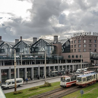 """Ladojsky"" Railway Station<br /> (St. Petersburg)"